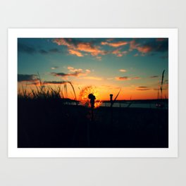Malahide Beach CP1 Art Print