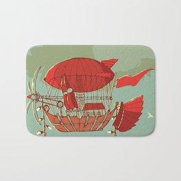 Airship Fantasy Bath Mat