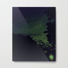 Lo-Fi Sunset Metal Print