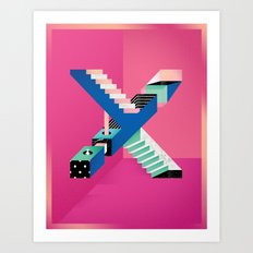Impossible X Art Print