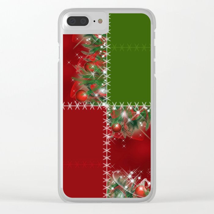 New year's design. Clear iPhone Case