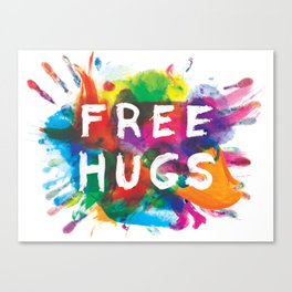 free hugs Canvas Print