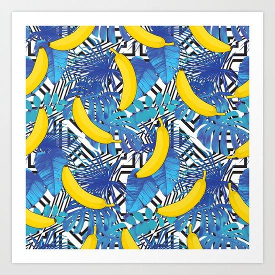 summer tropical Art Print