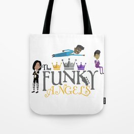 The Funky Angels Tote Bag