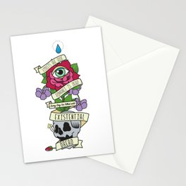 Existential Dread Stationery Cards