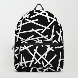 Kerplunk Black and White Backpack