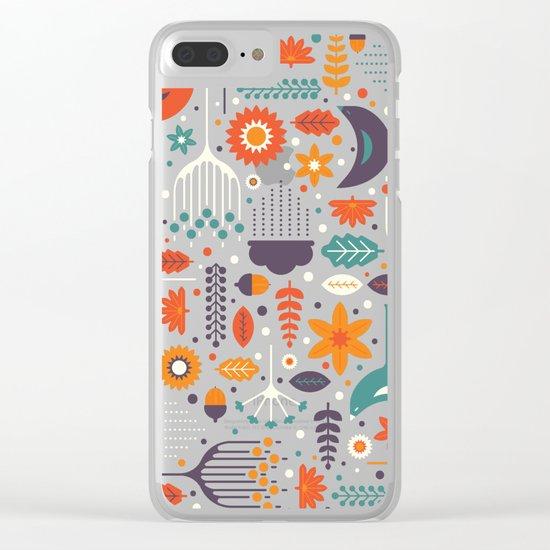 Flora & Fauna Clear iPhone Case