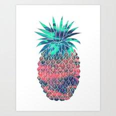 Maui Pineapple Art Print