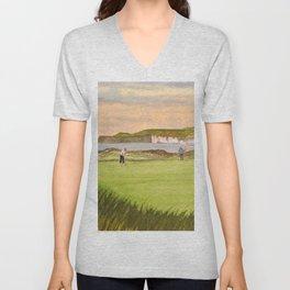 Royal Portrush Golf Course 5th Hole Unisex V-Neck