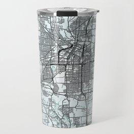 Akron, OH, USA White City Map Travel Mug