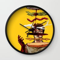 will graham Wall Clocks featuring The Graham Brand by Zenyr