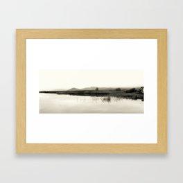the three methods Framed Art Print