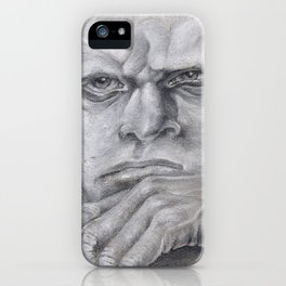 Thinking head iPhone Case