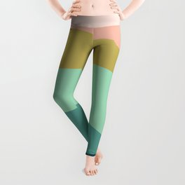 Abstract Mountains Leggings