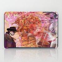 moriarty iPad Cases featuring Sherlock  VS  Moriarty by Ganech joe