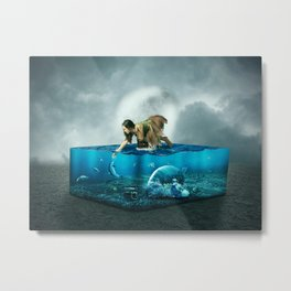 The lost Aquarium Metal Print