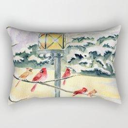 Winter Song 3 Rectangular Pillow