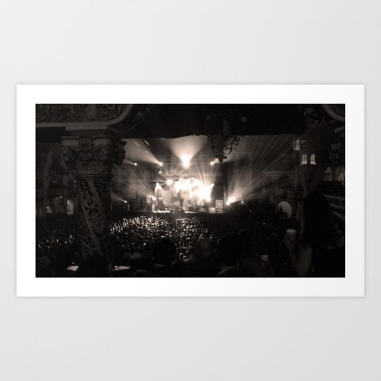 A Concert Art Print