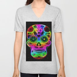 Skull20151213 Unisex V-Neck
