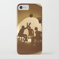 basketball iPhone & iPod Cases featuring Basketball by Anastassia Elias