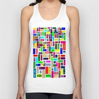 doors Tank Tops featuring Doors - White by Finlay McNevin