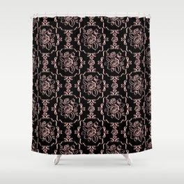 Victorian Romance - Pink Shower Curtain