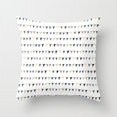 Flag Pattern Throw Pillow