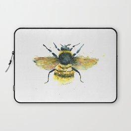 Bumblebee Art - Watercolor Bumblebee Art Laptop Sleeve