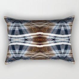 Ethnic hand drawn shibori Rectangular Pillow