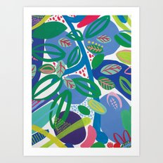 Secret garden II Art Print