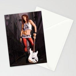 Mush - Grunge Rocker Stationery Cards