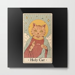 Holy Cat! Metal Print