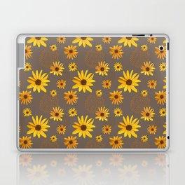 August Shower on Brown Laptop & iPad Skin