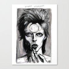 ziggy stardust Canvas Print