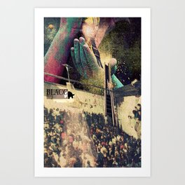Anubis I Art Print