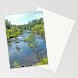 Magnificent tranquil river Stationery Cards