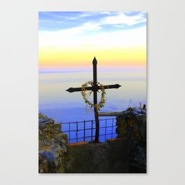 High Above Canvas Print