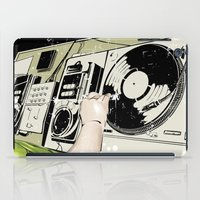 dj iPad Cases featuring DJ! by Parrish