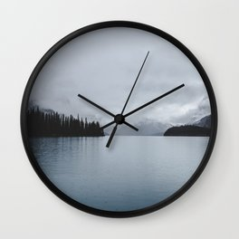 Landscape Lake Mirror Wall Clock