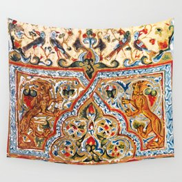old motives / colorful / Armenian  Wall Tapestry