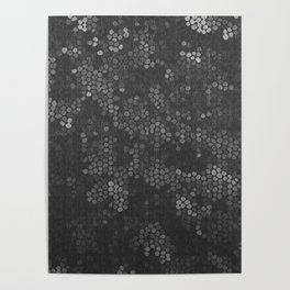 Fading molecules Poster