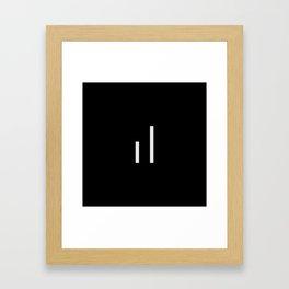 infiniteloop logo Framed Art Print