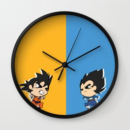 Rivalry Wall Clock