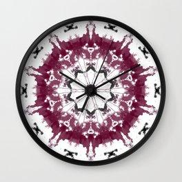 Eye opening Mandala Wall Clock