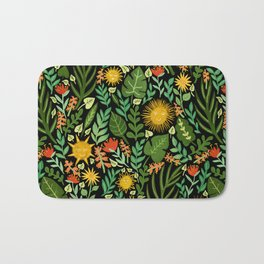 Sunshine Botanical - Dark Version Bath Mat