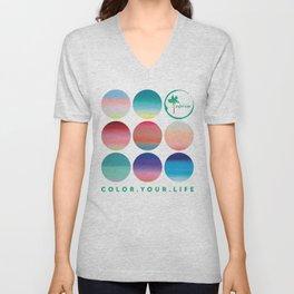 Color Your Life Unisex V-Neck