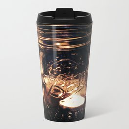 Candle Jar Metal Travel Mug