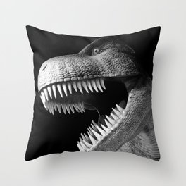 Tyrannosaurus Rex dinosaur Throw Pillow