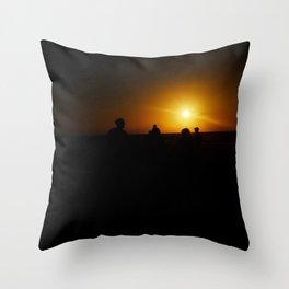 Simply lit Throw Pillow