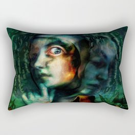 Trepanation, please Rectangular Pillow